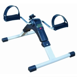 Pedal exerciser with display